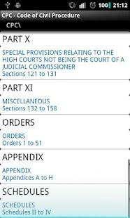 CPC - Code of Civil Procedure- screenshot thumbnail