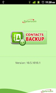 Safaricom Contacts Backup - screenshot thumbnail