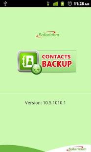 Safaricom Contacts Backup - screenshot thumbnail