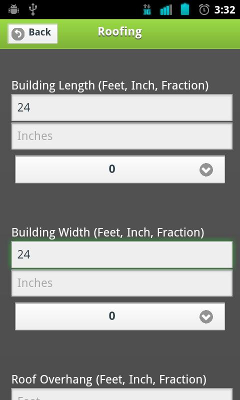 Builders Calc- screenshot