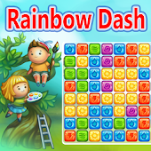 Rainbow Dash Match 3 Saga Free
