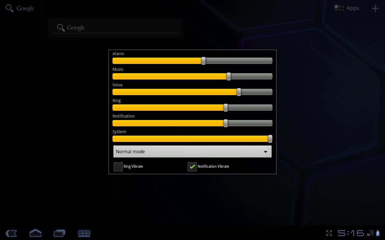 Audio Volume Mixer- screenshot