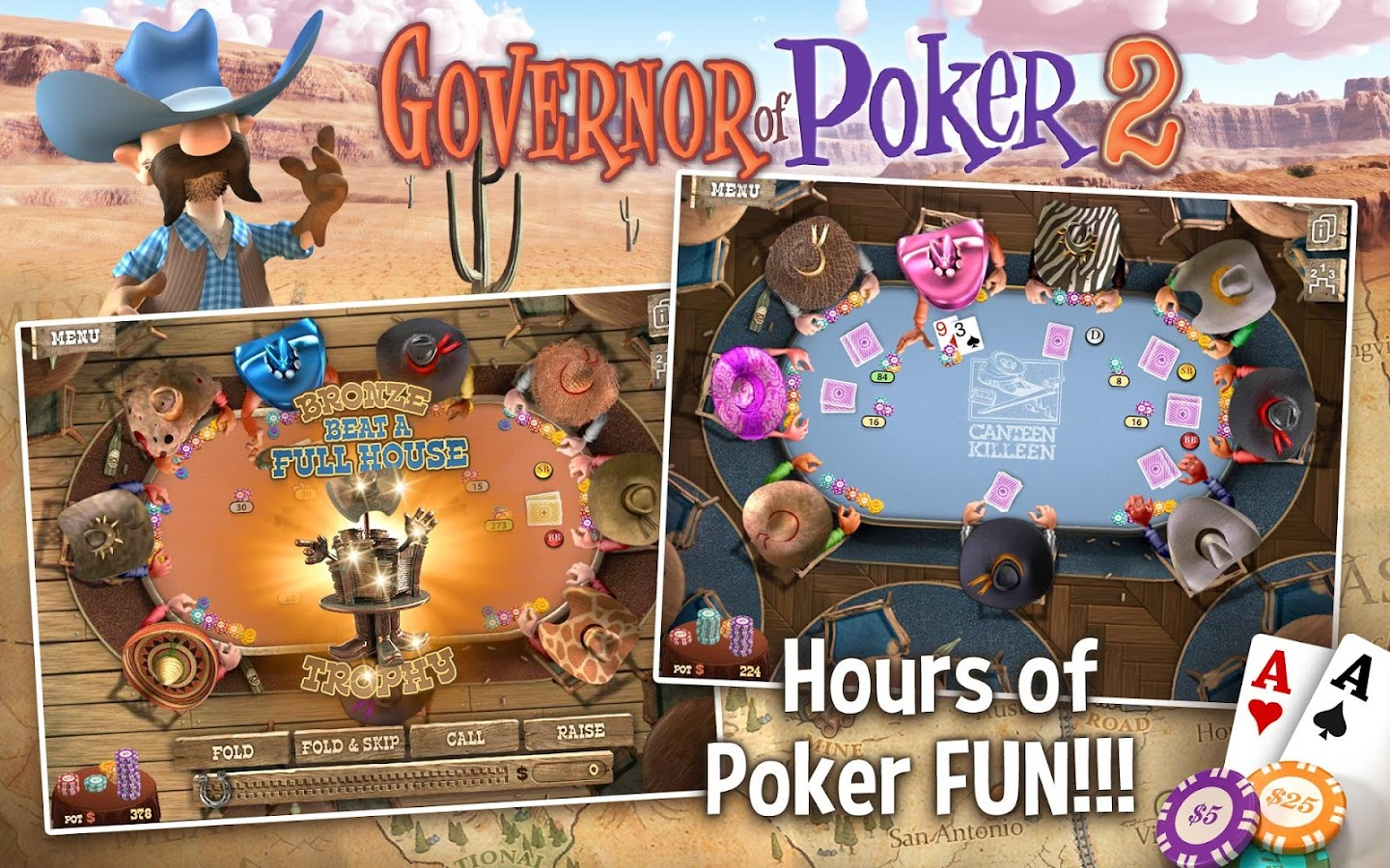 TEXAS HOLDEM POKER OFFLINE - screenshot