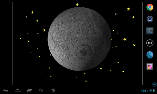 Moon Astroid Live Wallpaper