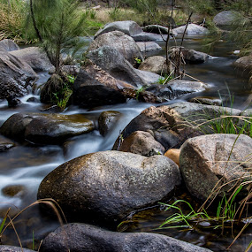 by David Spillane - Landscapes Waterscapes ( countryside, water, riverside, rocks, river )