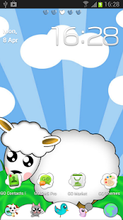 GO Launcher EX Cute Animals - screenshot thumbnail