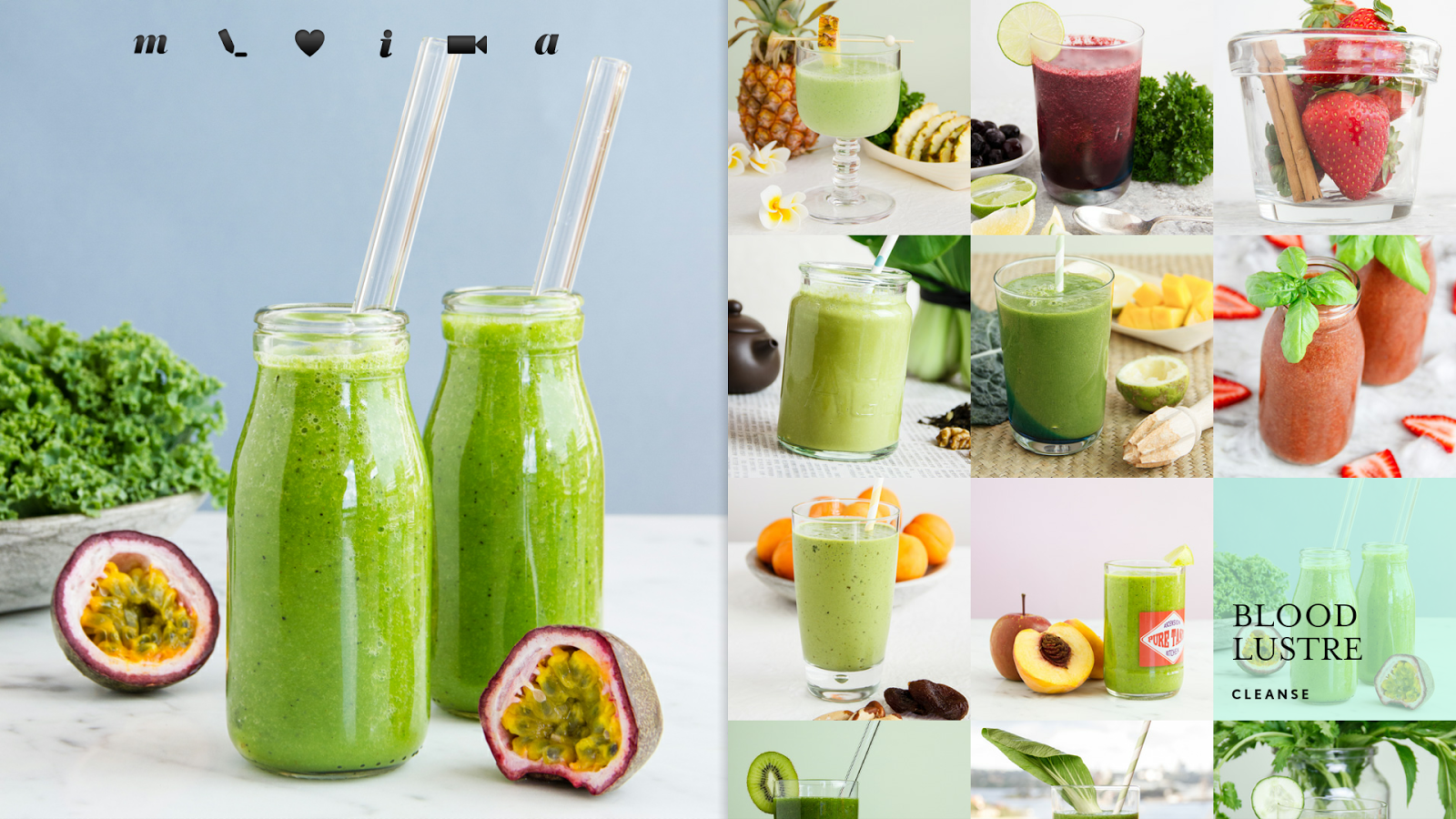 Green Smoothies- screenshot