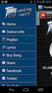 Thunder 104.5 - screenshot thumbnail