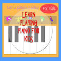 Piano for kids. Learning. icon