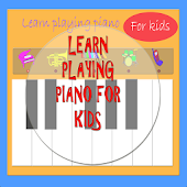 Piano for kids. Learning.