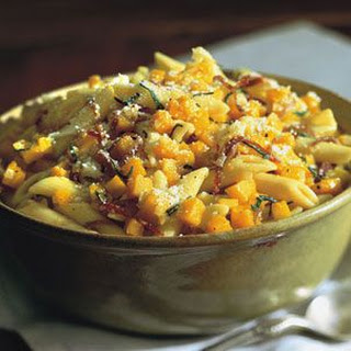 Penne with Butternut Squash, Sage and Bresaola