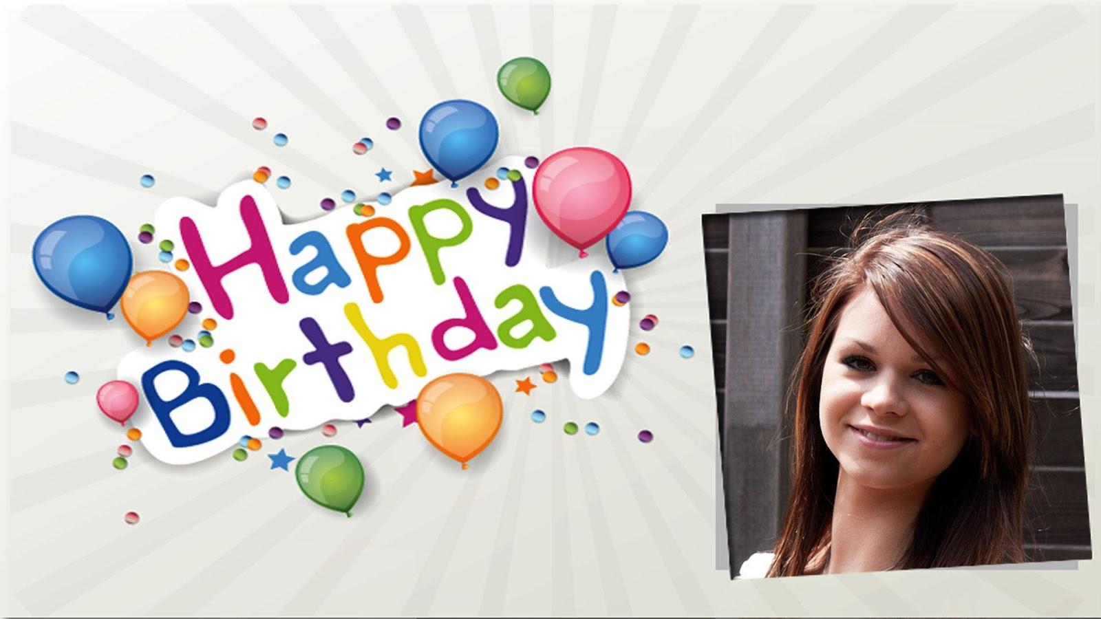 my happy birthday frames screenshot