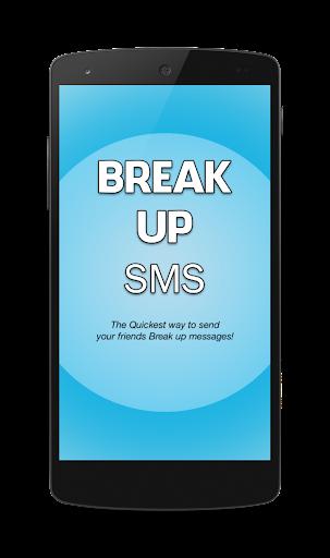 Break Up Sms