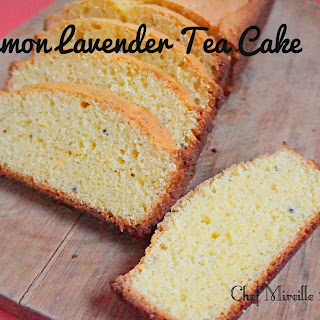 Lemon Lavender Tea Cake