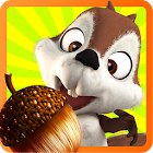 Slice It & Talk: Squirrel Fun icon