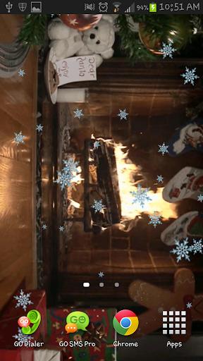 Christmas Fireplace Live Wlppr