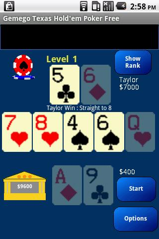Texas Hold'em Poker Large Free - screenshot
