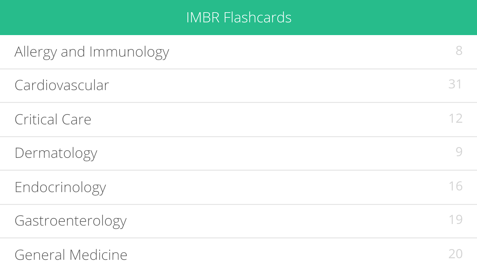 ACP Flashcards: IMBR- screenshot