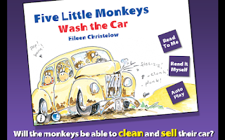 Screenshot of 5 Monkeys Wash the Car