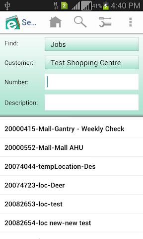 Screenshots for elogbooks