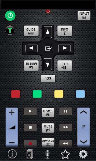 高清晰度電視 rca 電視遠端控制應用程式