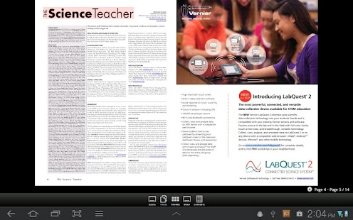 The Science Teacher Magazine - screenshot thumbnail
