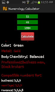 Numerology Calculator - screenshot thumbnail