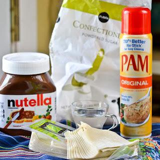 Baked Nutella Ravioli