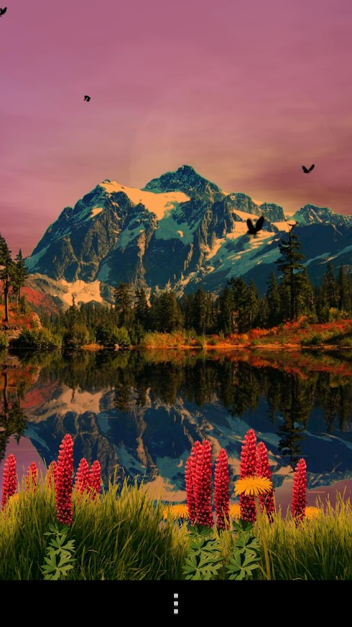 Mountain Lake Live Wallpaper - screenshot