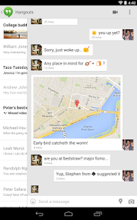 Hangouts - screenshot thumbnail