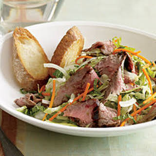 Grilled Steak-and-Sweet Lime Salad.