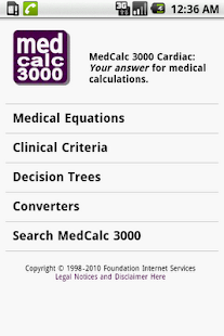 MedCalc 3000 Cardiac - screenshot thumbnail
