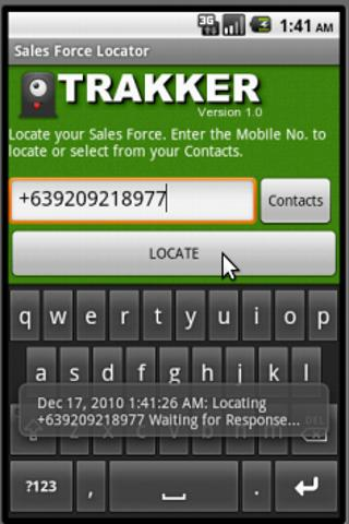 Sales Force Trakker- screenshot