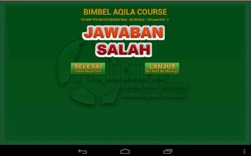 To Ujian Nasional Smp Ipa Android Apps On Google Play
