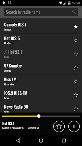 Radio USA 1.6.1 screenshots 2