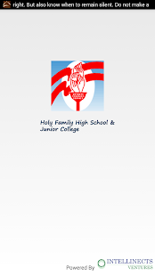 Holy Family High School & Jr. College, Andheri- screenshot thumbnail