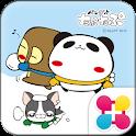 パンダのたぷたぷ冬Ver. 壁紙 icon