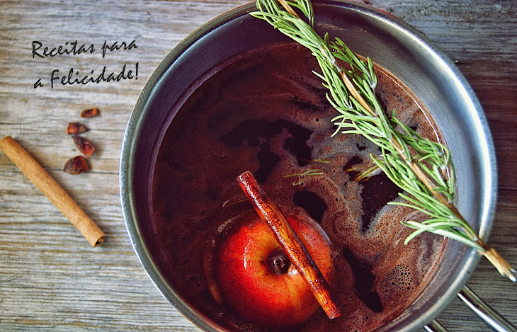 Mulled Wine with Chocolate and Spices