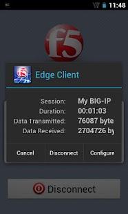 F5 BIG-IP Edge Client - screenshot thumbnail