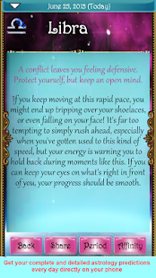 The True Horoscope 2015 - screenshot thumbnail