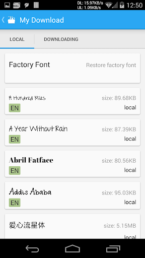 iFont(Expert of Fonts) 5.8.7 screenshots 4