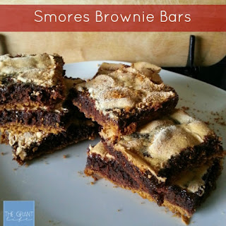 S'mores Brownie Bars.