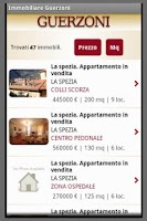 Screenshot of Immobiliare Guerzoni
