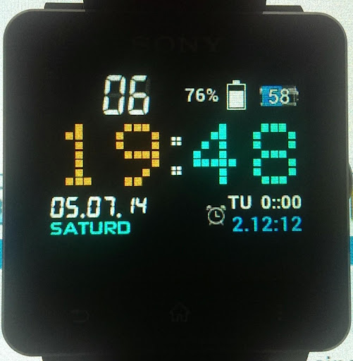 AmperRed for Sony SmartWatch 2