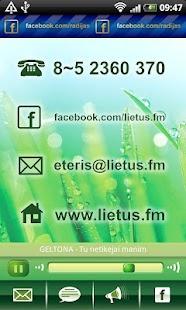 Radijo stotis LIETUS - screenshot thumbnail