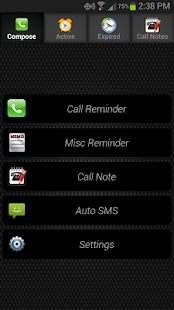 Call Reminder - screenshot thumbnail