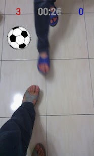 Kick Ball (AR Soccer)- screenshot thumbnail