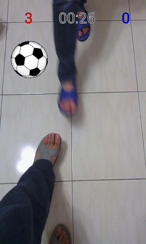Kick Ball (AR Soccer)- screenshot