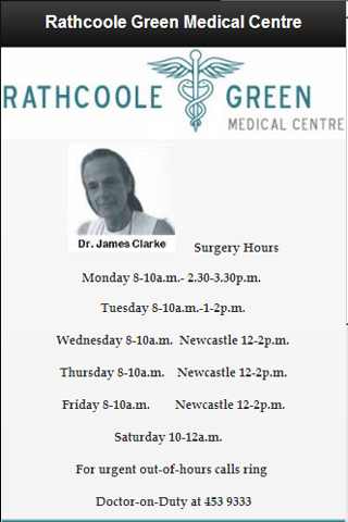 【免費醫療App】Rathcoole Green Medical Centre-APP點子