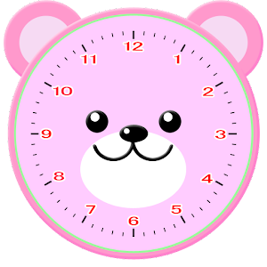 Bear Clock for PC and MAC